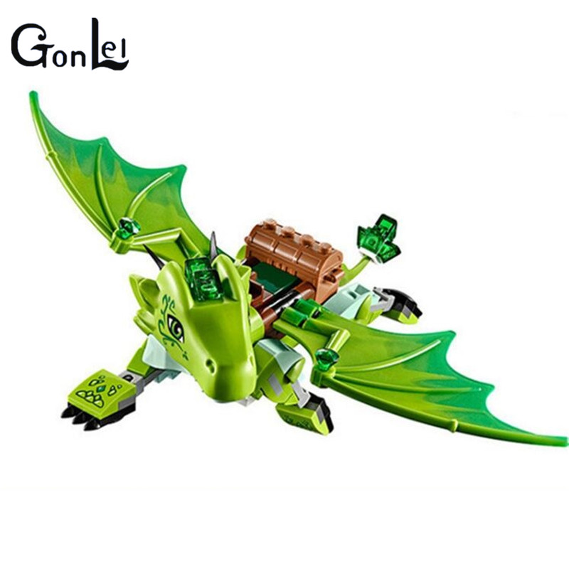 GonLeI Elves Secret Place parenting activity education model building blocks of the new year girls and toys Childrens toys