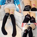 Hot Sale!Cute Children Baby Kids Girls Tights Pantyhose Knee Lovely Tattoo Tights Pantyhose Girls Velvet Stocking Baby Tights