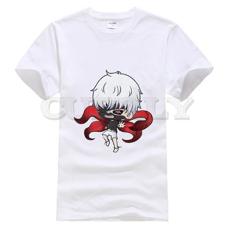 2019 new T shirt Print Tokyo Ghoul Large size Japan Anime Cartoon comics Summer dress men tee clothing Funny t shirt Retro in T Shirts from Men 39 s Clothing