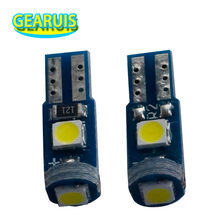 100pcs Car Led T5 3 SMD 3030 LED W3W 37 73 74 Wedge Instrument Panel Speedometer Tacho Gauge Cluster Lamp Dash LED Bulbs Light