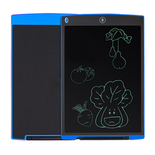 """Best price 12"""" Digital LCD eWriter Paperless Notepad Writing Tablet Drawing Graphics board with Button Cell/Handwriting Pen For child"""