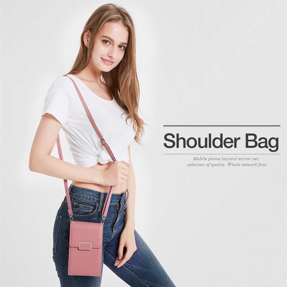 Musubo Luxury Woman Phone Bag Case For LG V30 V20 V10 G6 G5 SE G4 LTE G3 Girl Messenger Leather Mini Crossbody Bag Wallet Cover