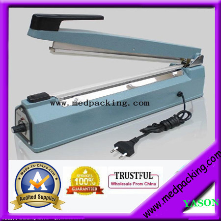 ФОТО YS-ASF400 hand impulse heat plastic bag sealer /poly bag sealer/large plastic bag sealer(sealing length 400mm)