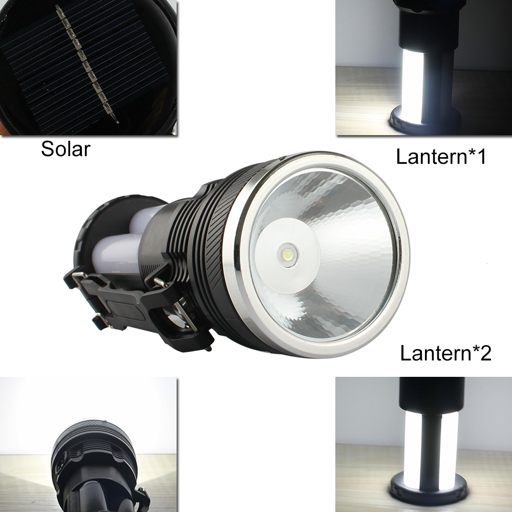 Solar Line Lights Part - 25: 2 In 1 LED Flashlights Portable Solar Charging Lights Camping Lights 25led  EU/ US Charging Line Plugs Outdoor Searchlights-in Flashlights U0026 Torches  From ...
