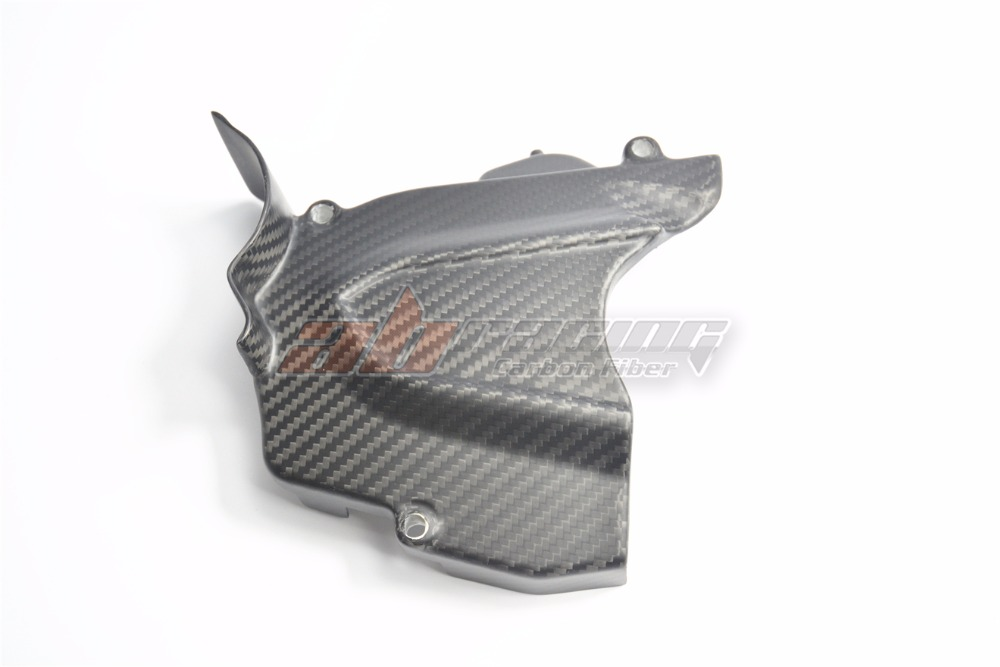 Engine Sprocket Cover For MV Agusta F3 Brutale 675 800 Rivale Dragster 800 Full Carbon Fiber