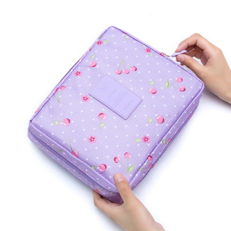 Korean cosmetic bag fashion multi-function waterproof travel cosmetic bag organizer must-have women