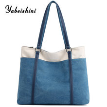 New Tote womens bags Light luxury canvas for women 2019 crossbody bag over shoulder ladies hand