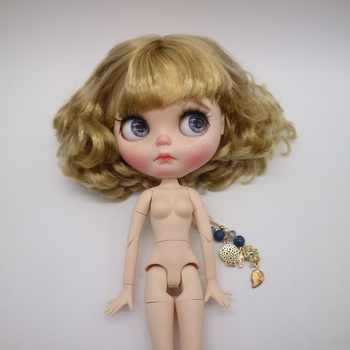 1212 customization doll Nude doll joint body blyth doll For Girls short