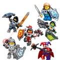 2016 877 nuevo 6 unids knights building blocks establece ladrillos de juguete de regalo para niños juguetes para niños ladrillos enlighten lepin