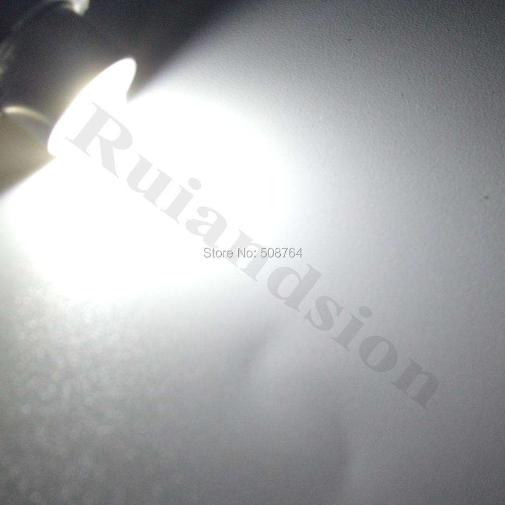 2 pcs / lot 3000 k 6000 k P13.5s 5 W Maglite LED Bulb Upgrade - Lampu mobil - Foto 5