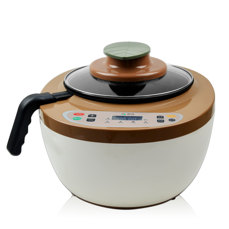 220V 4.5L Intelligent Electric Chinese Food Stir-Fry Cooking Machine Multifunction Smokeless Multi Cooker EU/AU/UK/US Easy Work