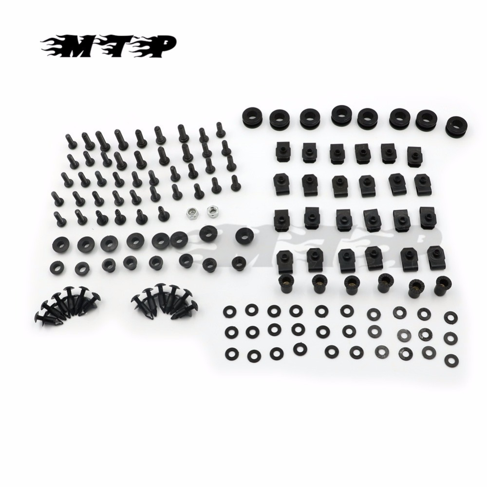 YZF R6 Motorcycle Fairing Bolts Screw For Yamaha YZF-R6 YZFR6 1998 - 2002 2001 2000 1999 Body Fairings Bolt Fastener Fixation