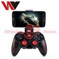 WV C8 Control Remoto Controlador de Juegos Joystick Gamepad Inalámbrico BT 3.0 para el Teléfono Móvil Tablet PC Soporte Incluido