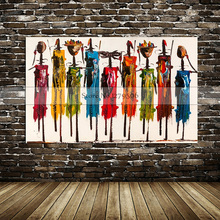 Canvas painting Cuardros decoracion Household adornment picture Best Art Abstract oil original directly from artis