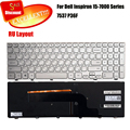 100% brand new Russian Keyboard For Dell Inspiron 15-7000 Series 7537 P36F