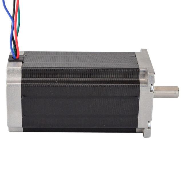 Nema 23 Stepper Motor 57x113mm 3Nm/425oz.in 4.2A 4-lead Nema23 Step Motor for 3D Printer/CNC Engraving Milling Machine
