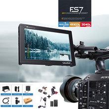 Lilliput FS7 HD 1920×1200 3G SDI 4 K HDMI entrée/sortie caméra vidéo moniteur de champ de 7 pouces pour Canon Nikon Sony Zhiyun cardan lisse 4