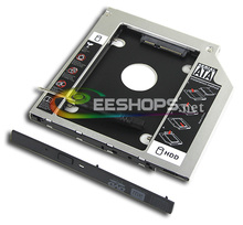 New for Sony Vaio S F Series VPCSB VPCSA VPCSE Laptop 2nd HDD SSD Caddy DVD Optical Bay Second Hard Disk Drive Enclosure Case