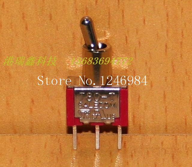 [SA]<font><b>T8013</b></font>-TNCQ Brachypodium single stitch two tranches M6.35 small toggle switch toggle switch T80-T SH--50pcs/lot image