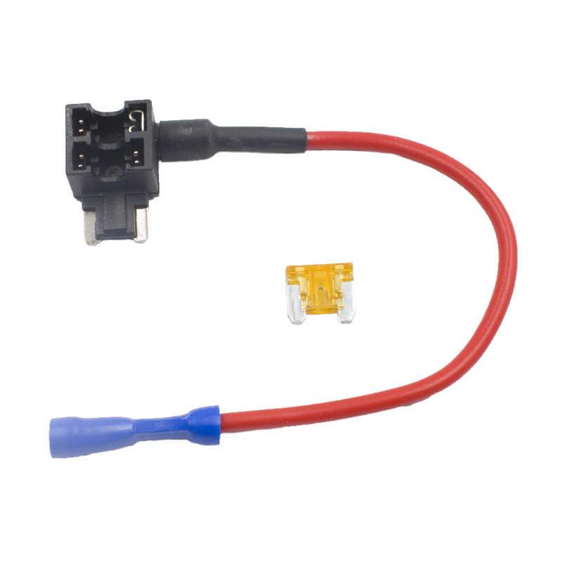 KELIMI Add-a-circuit держатель предохранителя микро/мини/низкопрофильный мини/стандарт ATM, APM лезвие Крана Двойной адаптер авто предохранитель с держателем