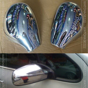 Accessories Fit For Peugeot 206 Sw Cc Door Side Wing Mirror Chrome Cover Rear View Cap In