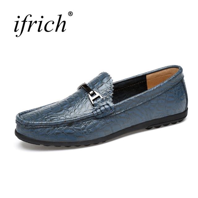 Новые стильные мужские лоферы кожаные ботинки удобные повседневные мужские  туфли обувь без шнуровки цвет  черный 7c9feadcdbe42