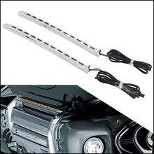 Для Honda Goldwing GL1800 2001-2010 2002 2003 2004 2005 2006 2007 2008 2009 левый и правый светодиодный бег обтекатель светильник