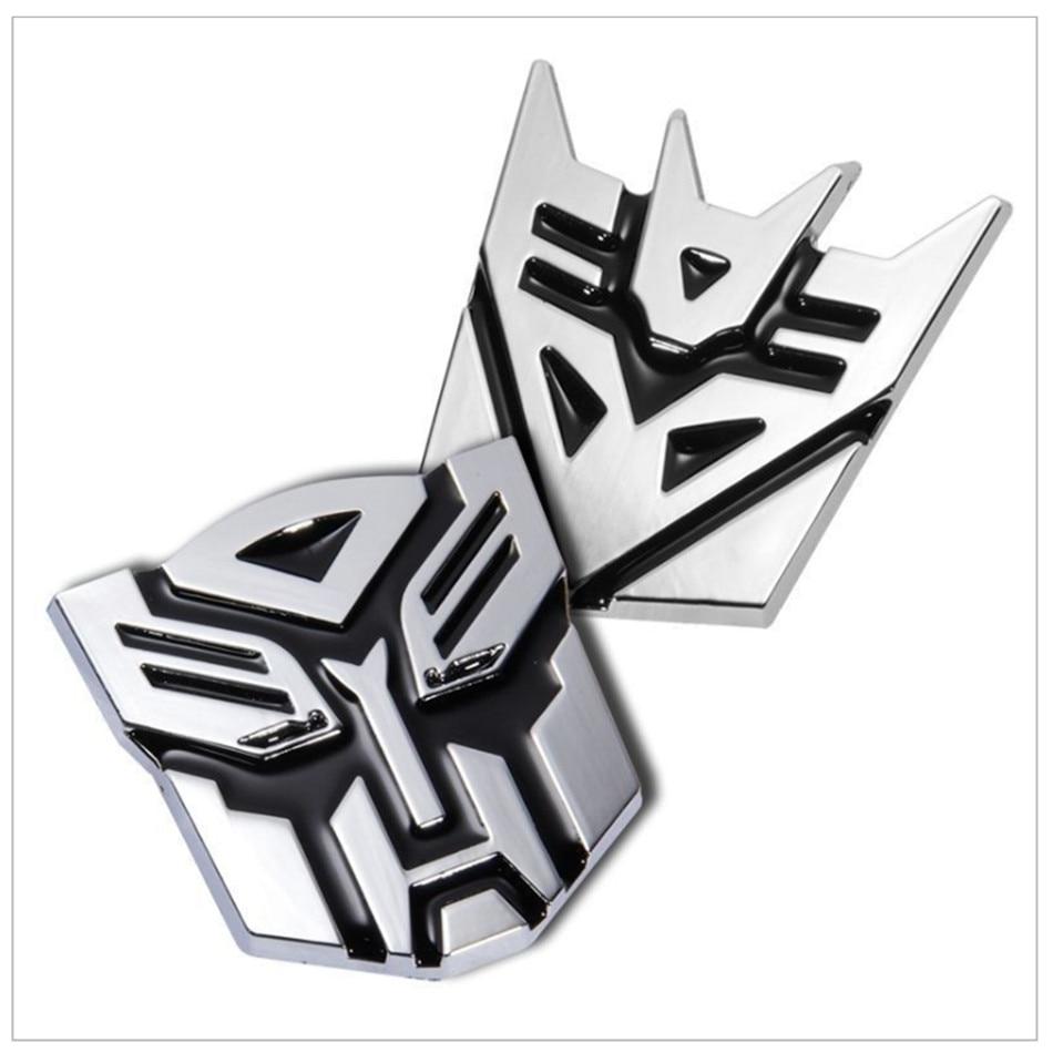 Car Transformers 3D Sticker car goods for Opel astra h astra J opel astra g Antara Zafira Insignia Astra Tigra Vectra Meriva