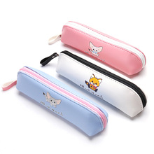 Cute cartoon pencil case fresh and lovely pen box school 2018 new creative