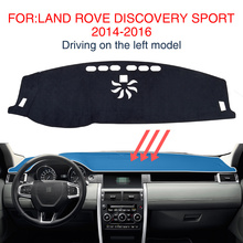 for Land Rover Discovery Sport Dashboard Protective Mat Shade Cushion Non-Slip Accessories HSE Luxury SD4 SE 2015 2016 2017 2018