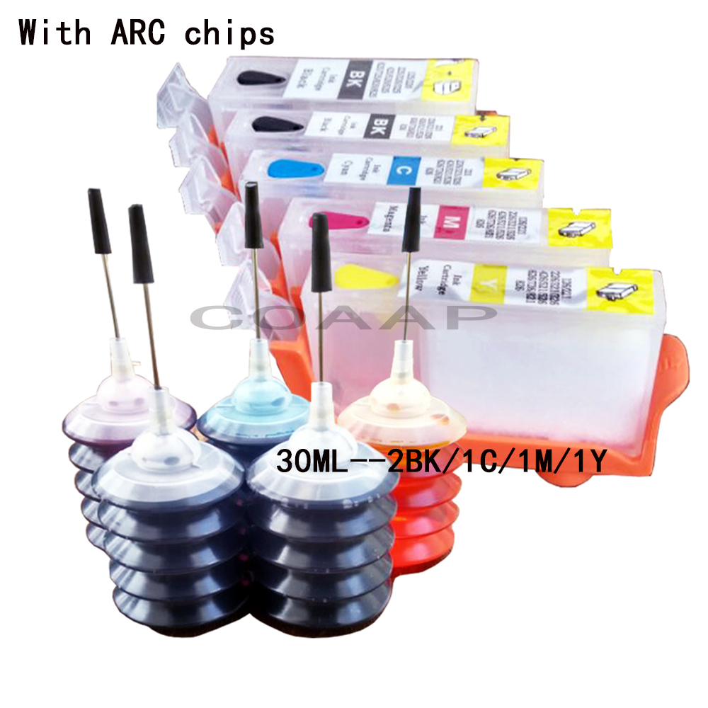 Refillable canon 520 521 ink cartridge kit for PIXMA MP 540 545 550 558 560 568 620 630 640 640R 648 printer, with 150ML Dye ink 2 suit for canon pg240 remanufactured ink cartridge with dye ink printer cartridge for mx372 432 512 mg2120 mg3120 3220 mg4120