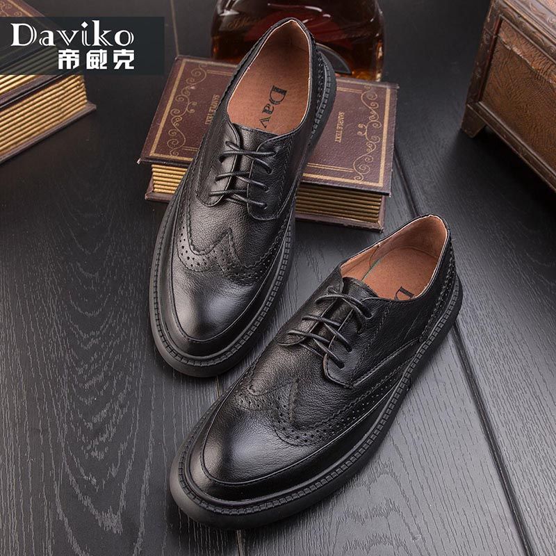 Bullock carved men's shoes leather British tide shoes summer thick bottom casual shoes tide retro belt shoes men 588-20 2016 summer new retro british style men s business suits round leather shoes shoes oxford shoes bullock carved free shipping
