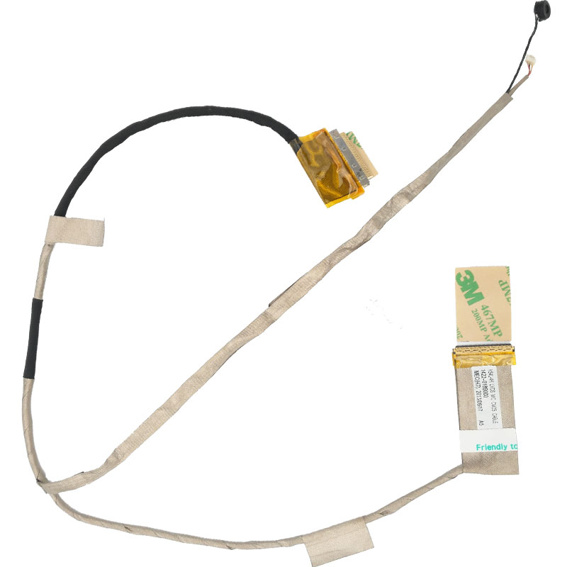 New Laptop Cable For ASUS X54 X54H X54C X54XI PN:14G221047000 Repair Notebook LCD LVDS CABLE new notebook laptop keyboard for asus g51 g51j g51v g53 g53jw g60 g60j g72 g73 hungarian hu layout