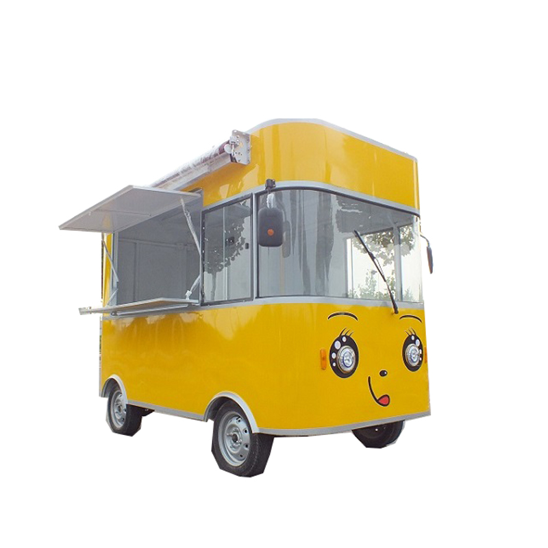Free shipping mobile food cart design food truck ice cream cart food cart price