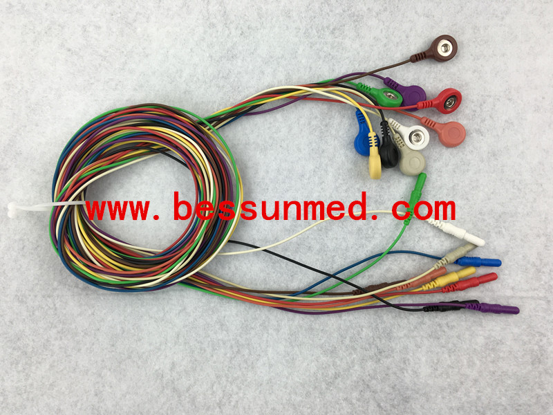 Back To Search Resultscomputer & Office Din Holter Ecg Cable 10 Leadwires,1.5m Discounts Price