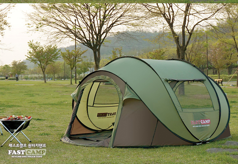 New arrival 3-4 person use ultralarge space automatic pop up camping tent large gazebo otomatik çadır