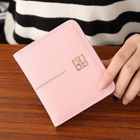 New Special Offer Zipper Women S Coin Purse European And American Small Wallet Short Thin Two
