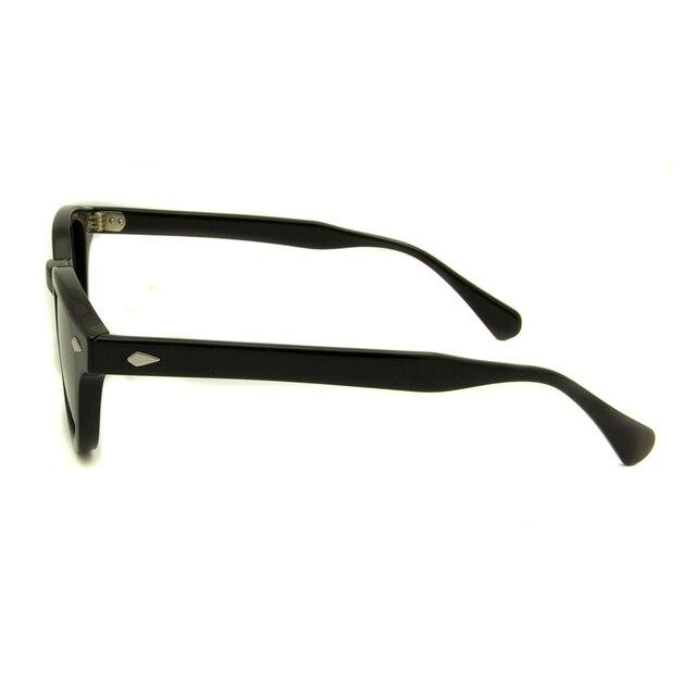 High Quality Acetate Glasses Sunglasses Men Round Small Retro Rivet Sunglasses Women Sun Glasses Uv400 Occhiali Da Sole Donna 4