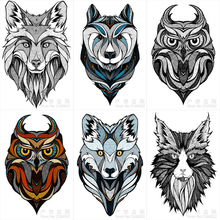 Geometry Animal Full Diamond Mosaic Embroidery 5d Painting Cross Stitch Diy Wolf OWL goat Needlework
