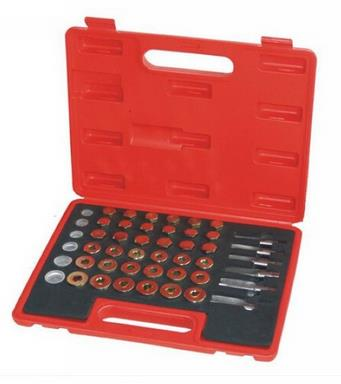 114Pc Quality Steel Oil Sump Drain Plug Thread Repair Tool Oil Pan Slipped Thread Repair Tool Set car repair tools цена