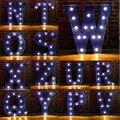 Alphabet Letter LED Light Bulbs Lamp Light Up Decoration Symbol WALL Decoration Wedding Party Window Display Light