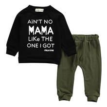 Комплект одежды для новорожденных мальчиков футболка с длинными