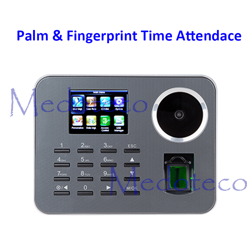 New Iclock360-P Biometric Palme Time Attendance BioID Fingerprint Electronic Time Recording