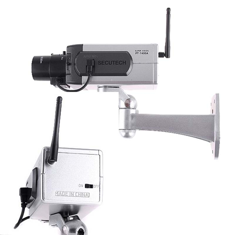 Wireless Fake Bullet Camera CCTV Security Camera Simulate ...