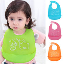 Baby EVA Waterproof Feeding Bibs Newborn Cute Cartoon Feeding Cloth Towels Children Apron Kids Feeding Accessories(China)
