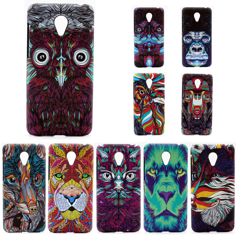 phone capa for meizu m2 mini 3D cover Case for meizu m2 mini colorful printing plastic hard Case coque with phone stent as gift