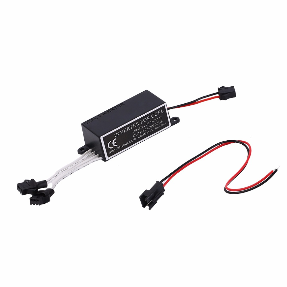 Hot 12V CCFL Inverter For CCFL Angel Eyes Light Lamp Bulb Halo Ring Spare Ballast Fit For BMW E36 E46 And All Cars