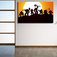 World Of Warcrafts Warlords Draenor Art Canvas Poster Painting Wall Picture Print Modern Home Bedroom Decoration Accessories