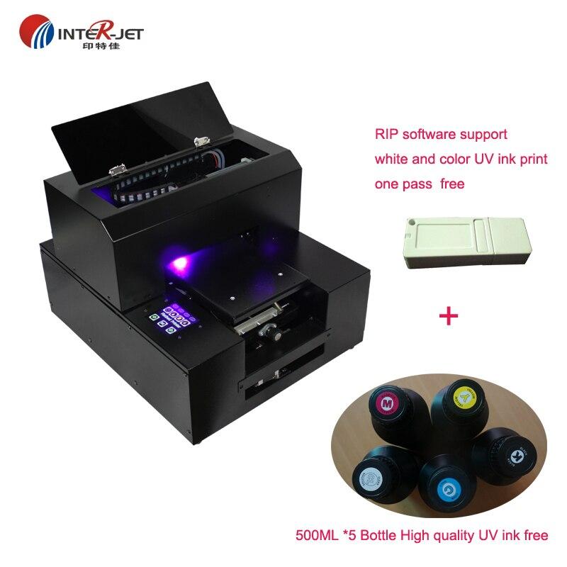 ID carte Impression A4 taille UV à plat Imprimante, DHL gratuite Livraison