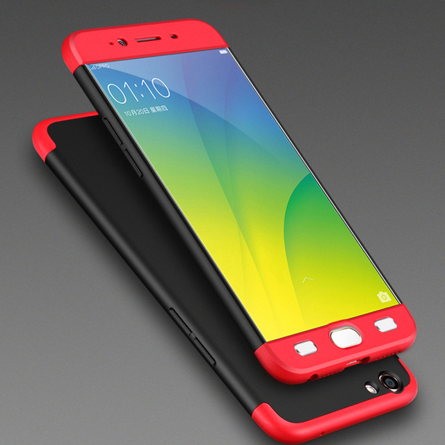 new styles 0ba0d d65dd US $4.28 |GKK Brand Three in One for OPPO A57 A59 A59S F1S 360 Full  Coverage Case Full Protection Phone Back Cover Capa -in Phone Bumper from  ...